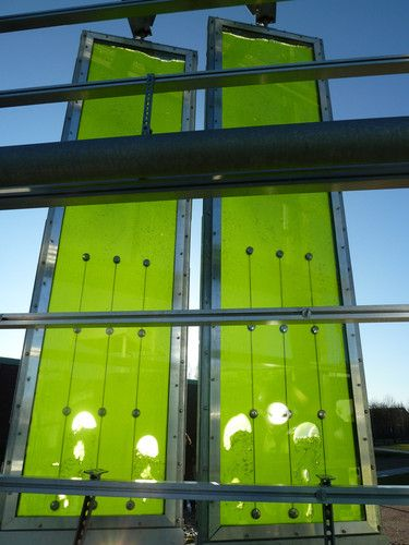 This Entire Building Is Powered By Its Algae-Filled Walls | Co.Exist: World changing ideas and innovation