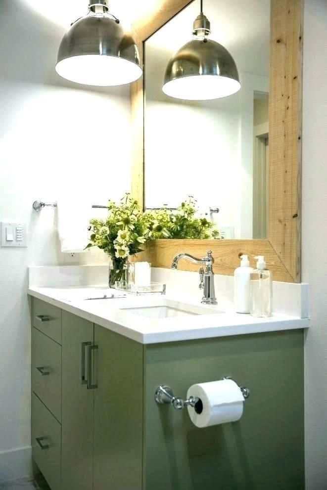 Miror Lighting Modern Bathroom Hanging, How High To Hang A Bathroom Light Over The Mirror