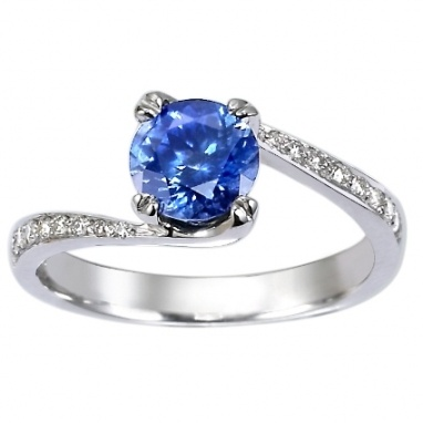 Sapphire Wedding Ring...Beautiful!