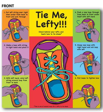 Left Handed Problems - Learning How to Tie Your Shoes - Why Are People Left Handed