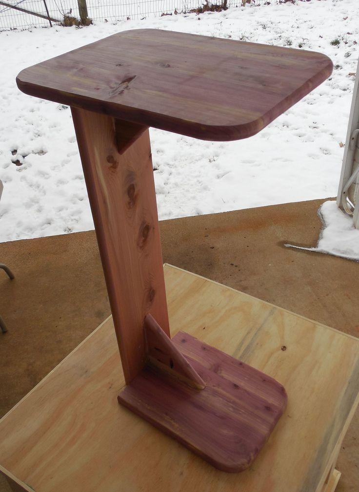 Cedar Couch table with a Kreg Jig