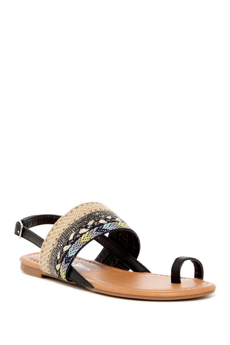 Dolly Woven Slingback Sandal