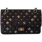 Preowned 2007 Chanel Cc Punk 2.55 Reissue 225 Flap Handbag
