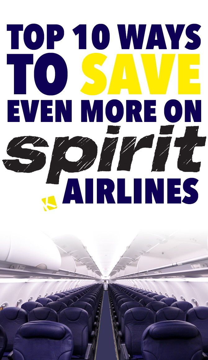 Say what?! $16 for a one-way flight?! It may sound too good to be true, but it's not. Spirit Airlines offers some of...