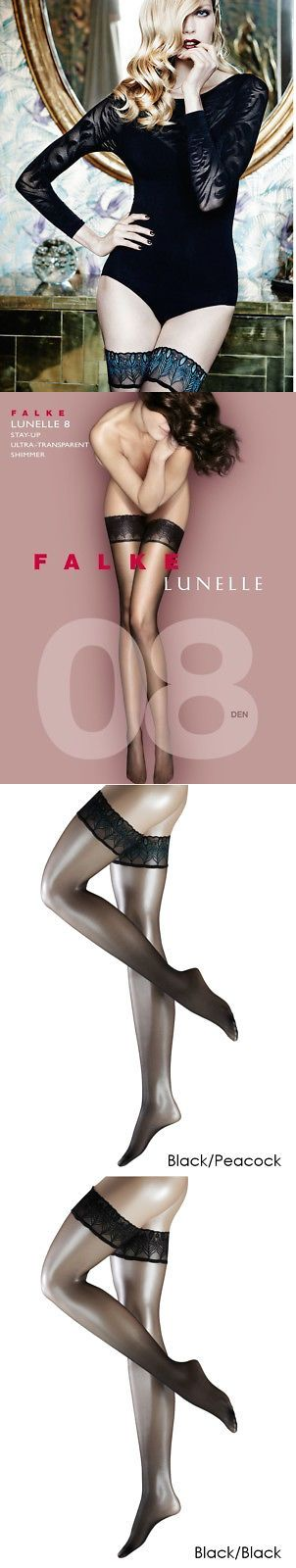 Stockings and Thigh-Highs 11527: Falke Lunelle 8 Denier Sheer Hold Ups, Stay Ups, Thigh Highs -> BUY IT NOW ONLY: $30.95 on eBay!