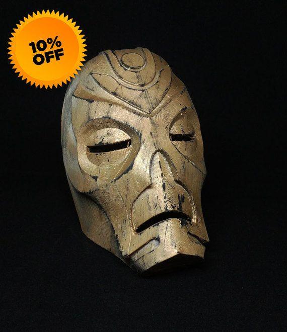 Skyrim Dragon Priest Mask (3D Printed) (FREE SHIPPING) etsy