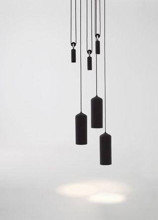 Pulley lamp by Dutch duo Wendy Maarten.