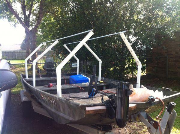 Cheap/removable duck blind • Hunting in Louisiana • Louisiana Sportsman, LA