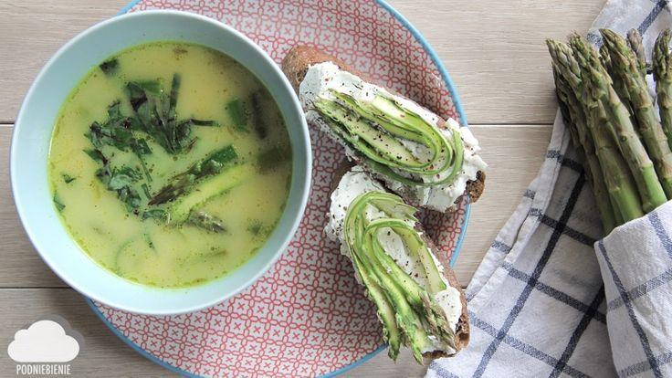ZUPA SZPARAGOWA Z KURKUMĄ – PodNiebienie #szparagi #zupaszparagowa #asparagus #asparagussoup #kurkuma #asparagustart #letniobiad #wiosna #wiosennyobiad