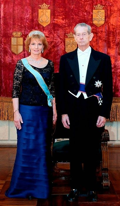 H.M. King Michael I and Crown Princess Margareta of Romania