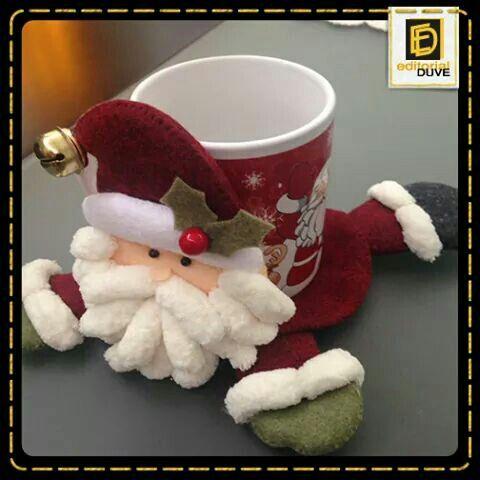 Porta vaso navideño