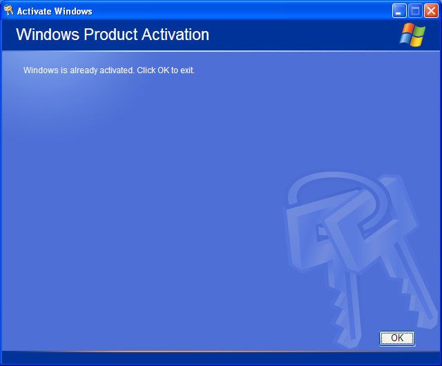 An Easy Guide to Updating Your Product Key in Windows XP: Confirm Reactivation of Windows XP
