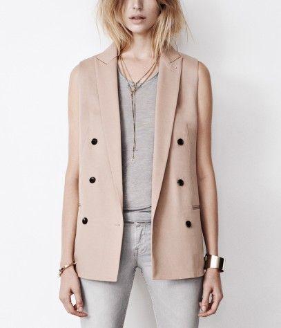 Masson Sleeveless Blazer, Sale, Sale Women, AllSaints Spitalfields