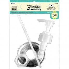 mason jar pump insert kit http creativeartslifestyle com accessories home