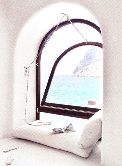 PLEASE: Interior, Favorite Places, Dream, Reading Nooks, Windowseat, House, Space, Ocean View, Window Seats