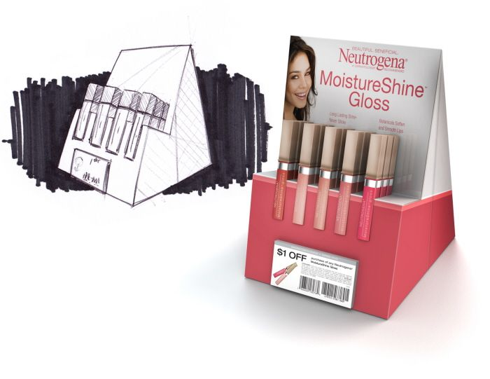 http://www.coroflot.com/chadbuske/Neutrogena-Lip-Gloss-Counter-Unit