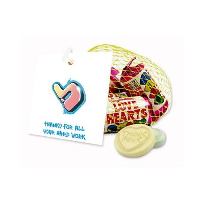 Let your staff know you appriciate the hard work they do with Promotional Love Hearts!