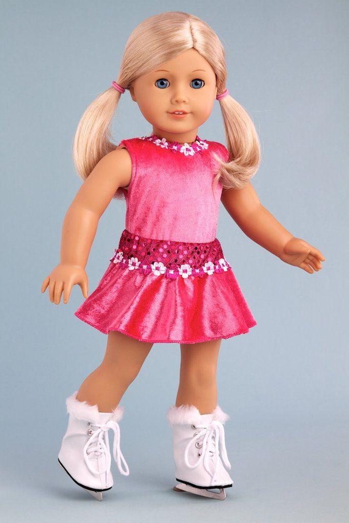Ice Skating Girl - Clothes for 18 inch American Girl Doll ...