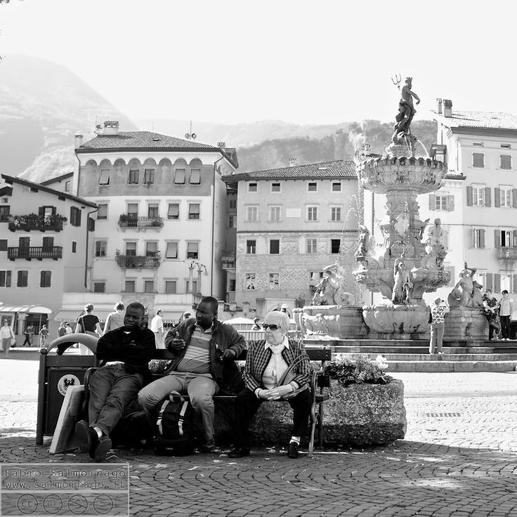 Trento-Piazza del Duomo by Daigen @ http://adoroletuefoto.it