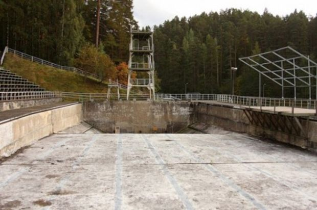 30 Haunting Images of Abandoned Olympic Venues Helsinki 1952 Summer Olympics