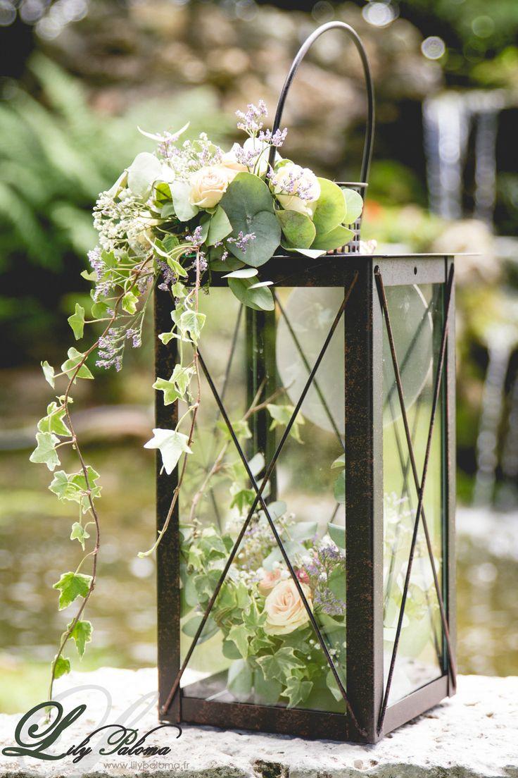 D coration florale de lily paloma mariage la grange de la forge normandie mariage - Decoration florale mariage ...
