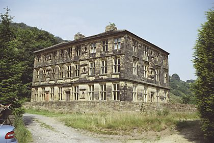 SCOUT HALL, LEE LANE -  HALIFAX, CALDERDALE, WEST YORKSHIRE, UK - Now abandoned and derelict
