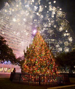 Houston Mayoru0027s Tree Every Holiday Season, Houston Unveils The Lone Star  Stateu0027s Tallest Christmas Tree