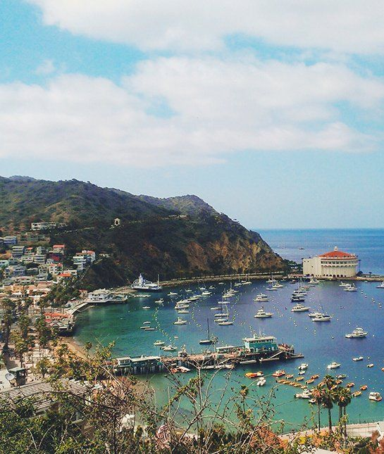 Nope, not Italy on the Mediteranean. It's AVALON, CALIFORNIA on the Pacific!!
