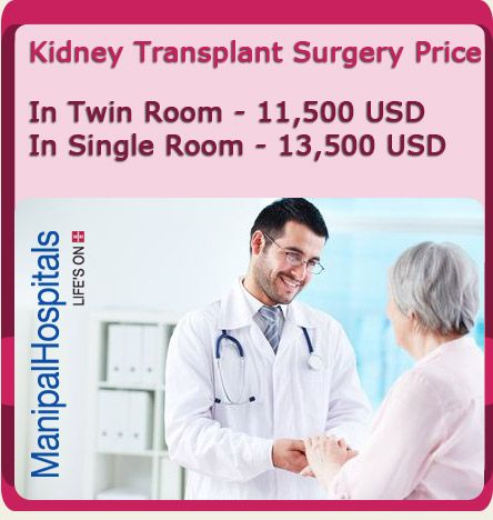 Cost of Kidney Transplant Surgery in Bangalore India