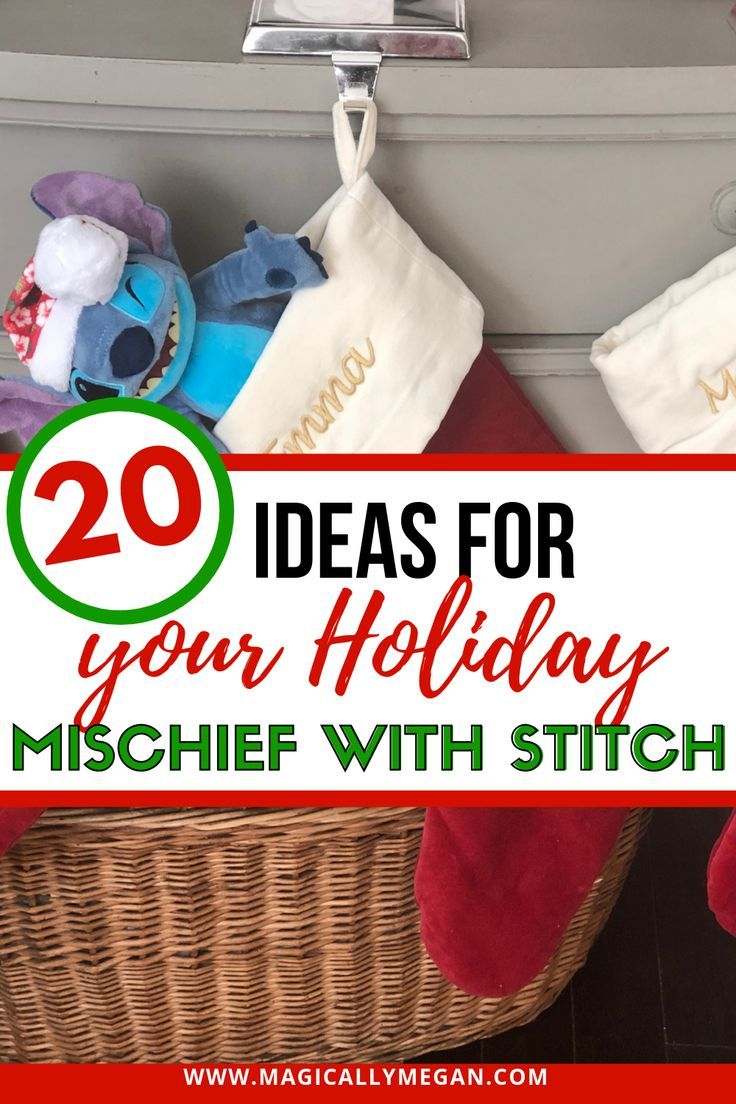 20 Ideas For Your Holiday Mischief With Stitch Disney Cruise