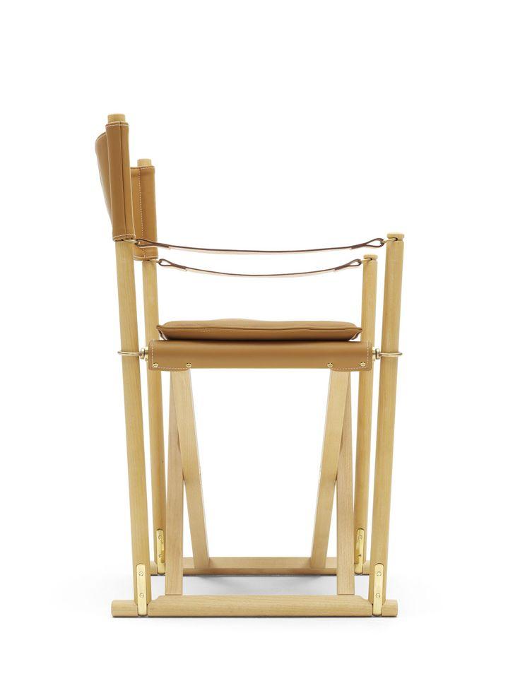Sedia regista / da pranzo / classica / in mogano - MK99200 by Mogens Koch - Carl Hansen & Son