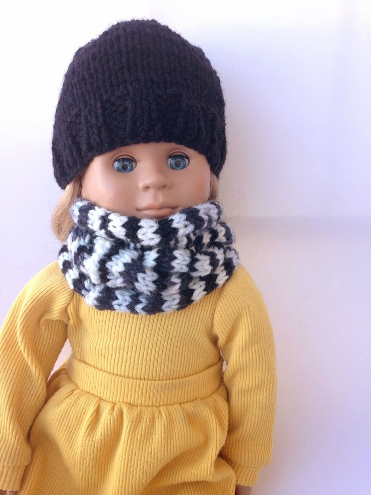 Knitting Pattern For Dolls Beanie : 1000+ images about American doll clothes knitting on Pinterest American gir...