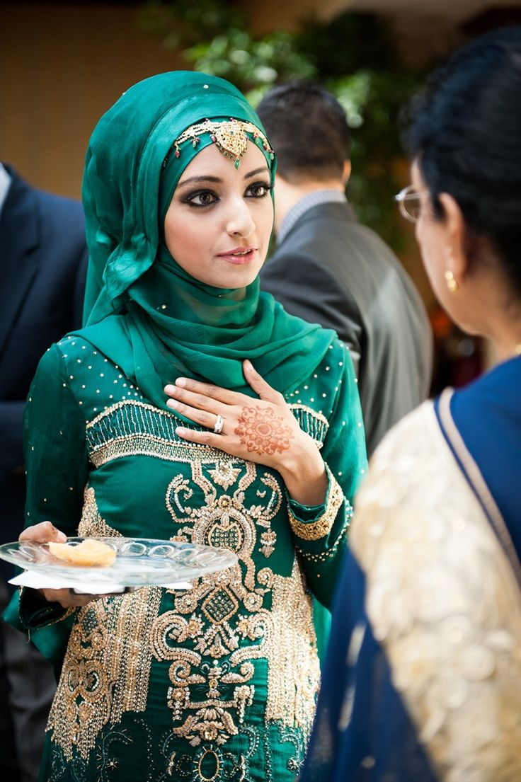 21 Wedding Hijab Looks