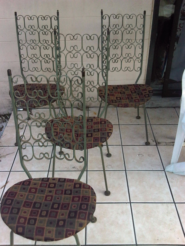 salterini 4 chairs hollywood regency offered on ebay starting at