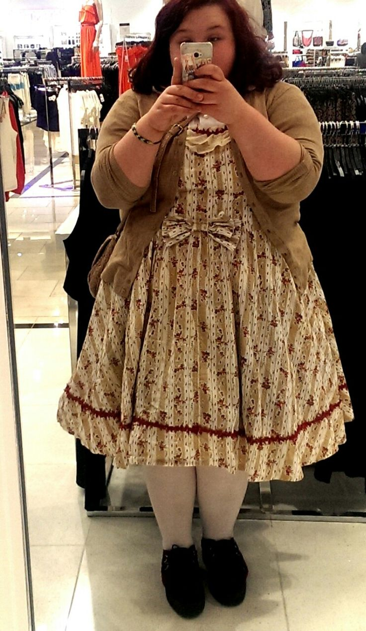 Beautiful Plus-size Lolitas Tumblr! I absolutely love this