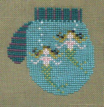Cricket Collection Mermaid mitten
