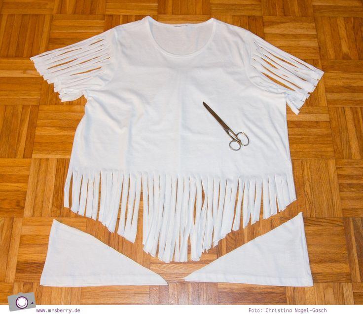 Bildergebnis für indianer shirt basteln
