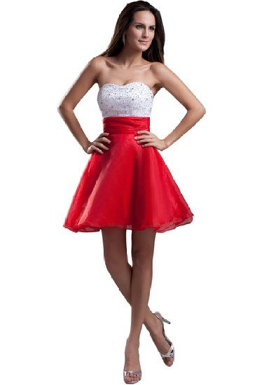 Red dress juniors quality