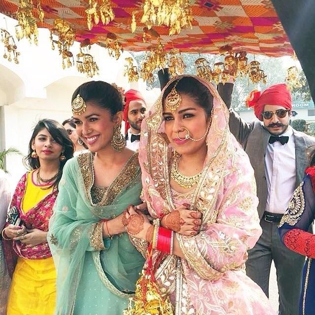 Nimrat Kaur Makes for a Stunning Bridesmaid at Her Sister's wedding!