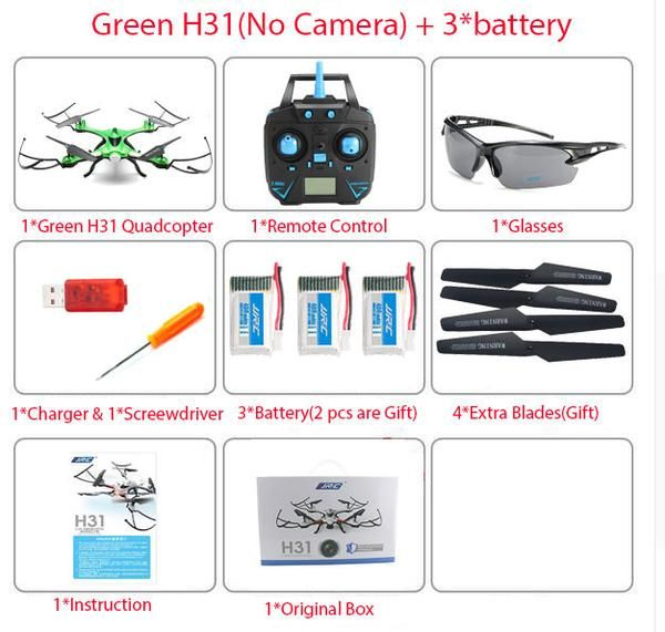 Waterproof JJRC H31 Drone with Camera Option