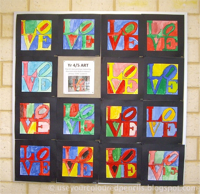 12 best images about robert indiana love hope art ideas on for Arts and crafts classes nyc