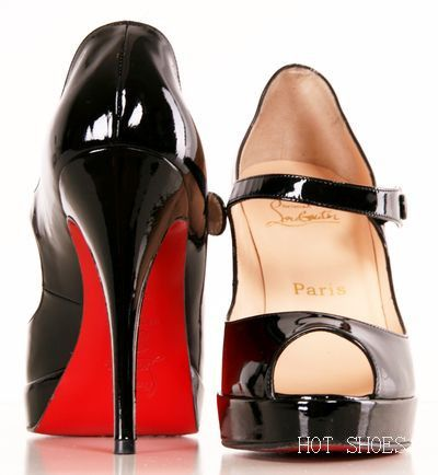 Enjoy fashion!!! cheap Christian Louboutin Bana 140mm Peep Toe Pumps Black CKW
