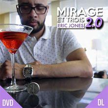 Mirage Et Trois 2.0 by Eric Jones and Lost Art Magic - DVD