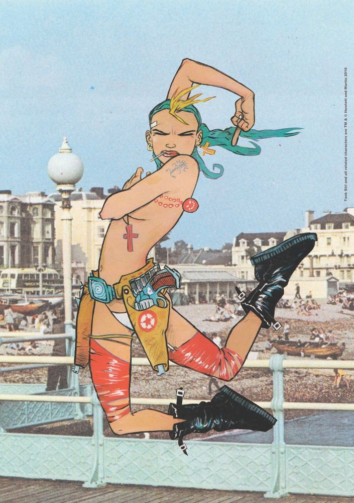 Image of Tank Girl Worthing Seaside Special Poster Magazine