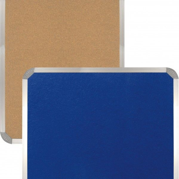 Cork Info Boards Aluminium Frame at The Whiteboard Shop