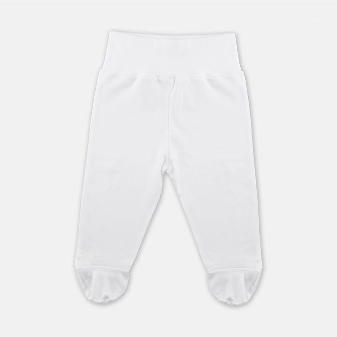 spodnie stopy białe