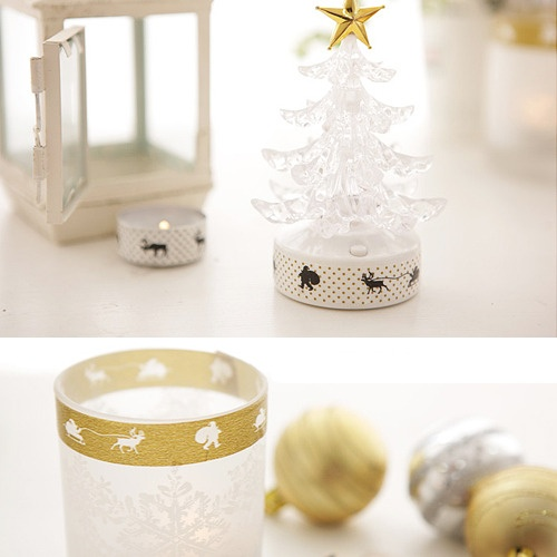 Decoracion Washi Tape ~ Decoraci?n Navidad washi tape  Washi tape madness In M?xico