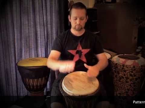 Matt Hains - Drummer - Previously known as DrummerBoyZA Some basic patterns for the beginner Djembe player to practice. I made these so anyone busy learning ...