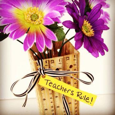Box Play for Kids | Teachers rule! DIY teacher gift idea