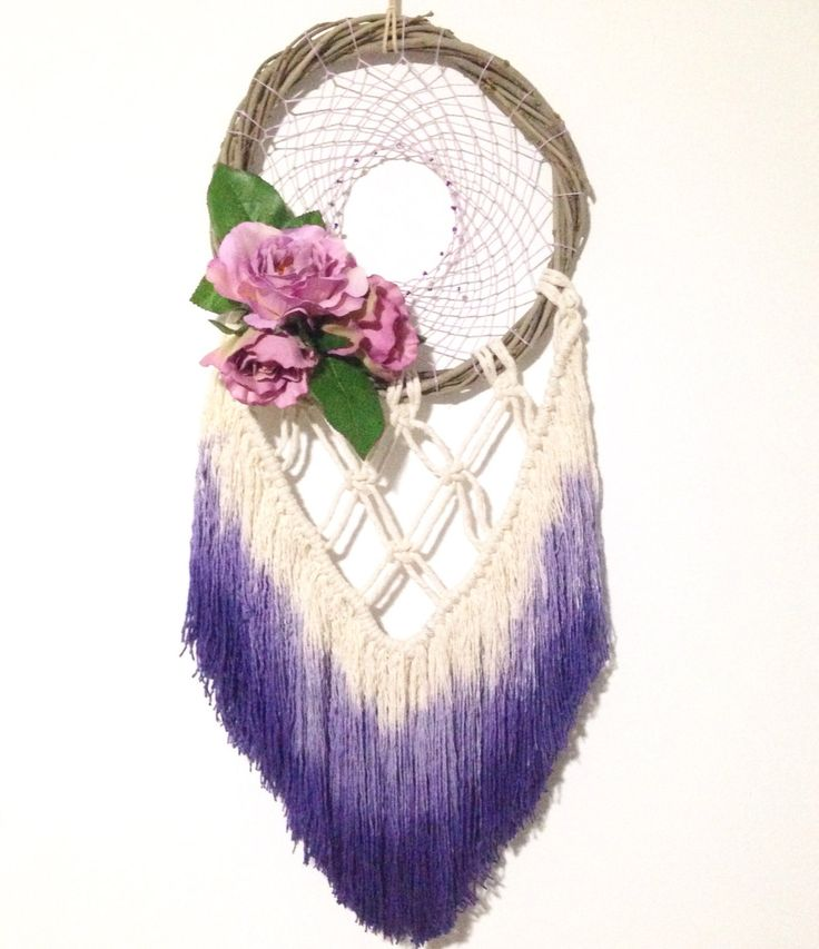 A personal favourite from my Etsy shop https://www.etsy.com/au/listing/491339913/dream-catcher-wall-hanging